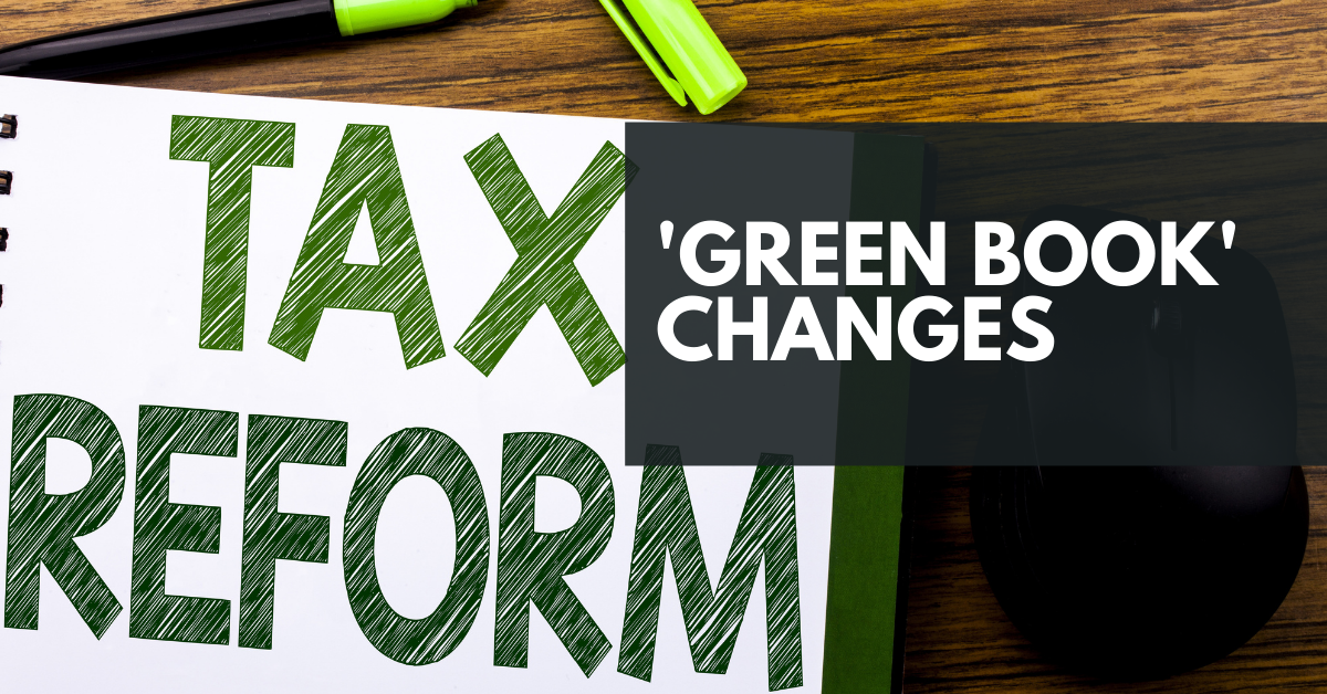 Biden's 'Green Book' Tax Proposal
