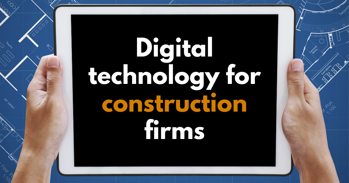Digital construction technology and the pandemic