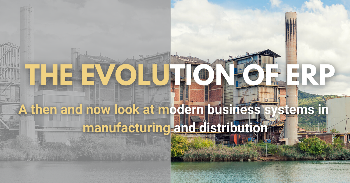 The Evolution of ERP to Today's Modern Business Systems