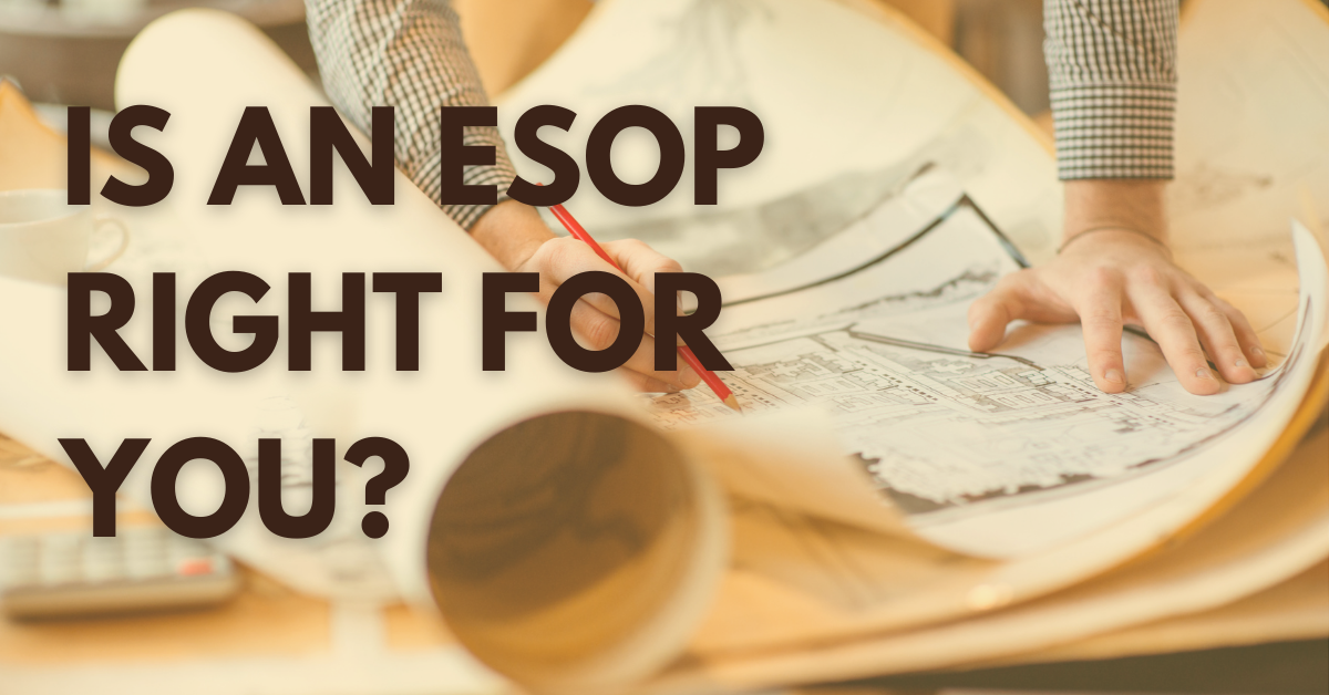 Benefits of ESOP Options for Architecture, Engineering and Construction Companies