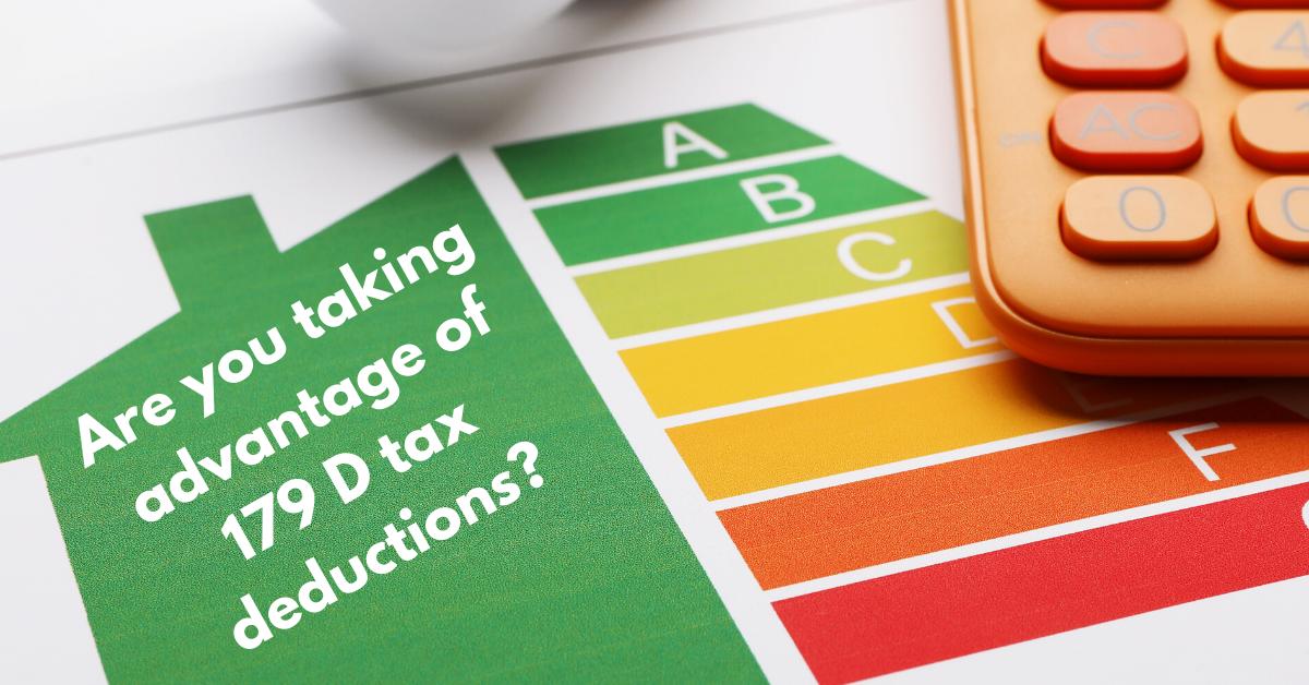 Take Advantage of the 179D Energy-Efficient Commercial Building Tax Deduction